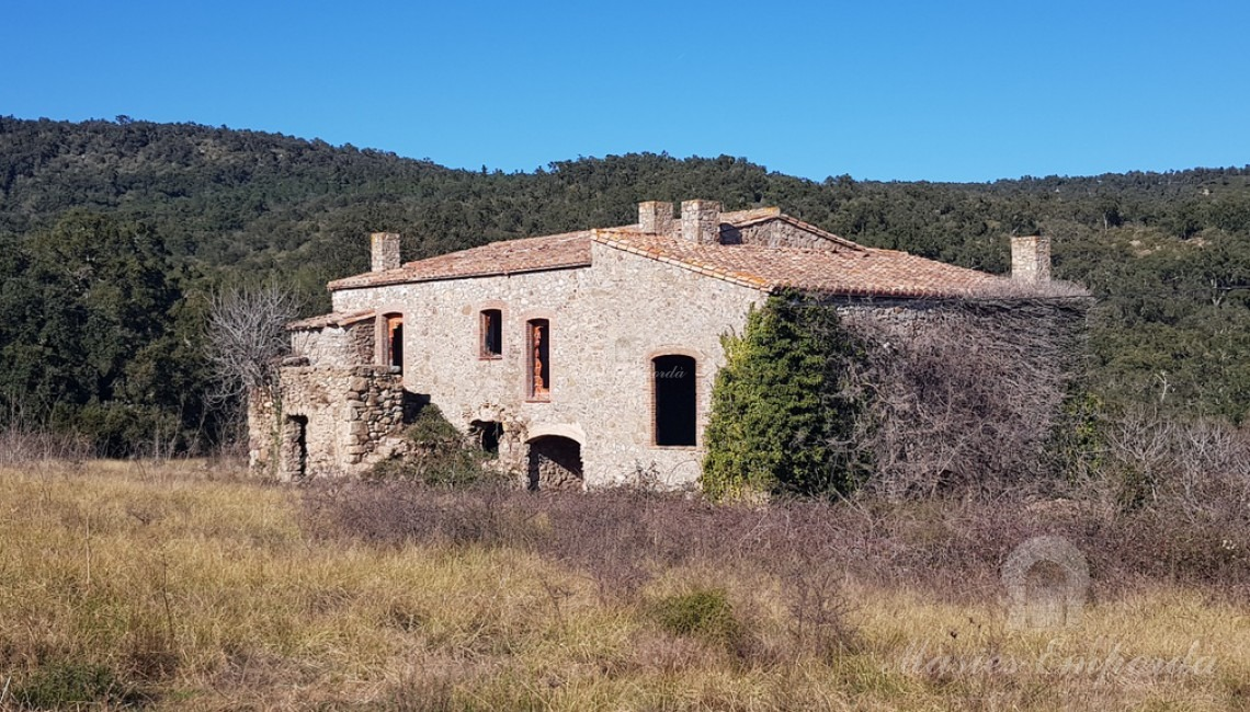 Vista general de la masia