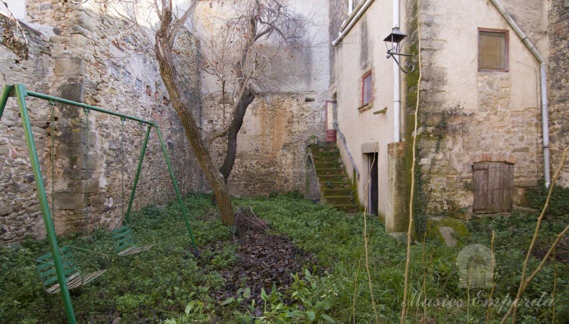 Jardín interior de la propiedad