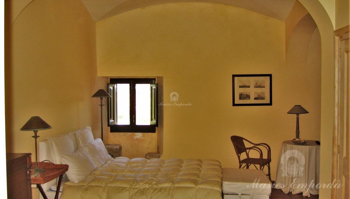 Una de les habitacions.