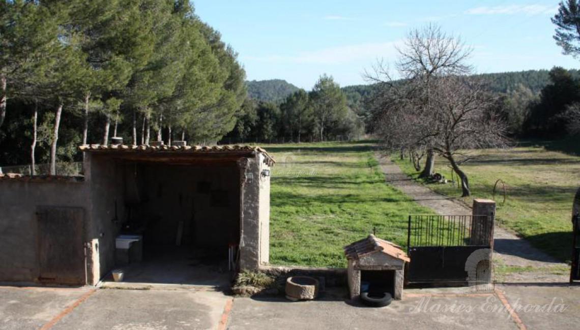 Vistas desde la terraza de la entrada a la casa