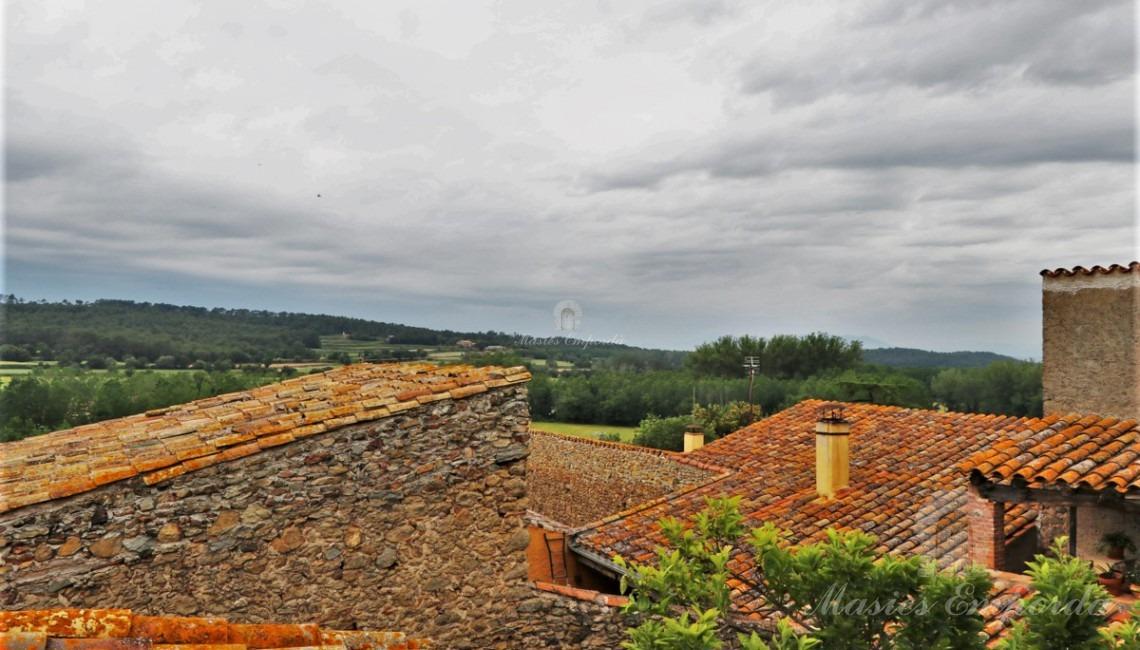 Vistas desde la terraza de la casa