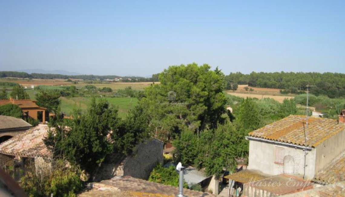 Vistas desde la segunda terraza de la casa