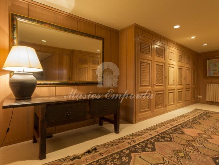 Detalle del vestidor de la suite