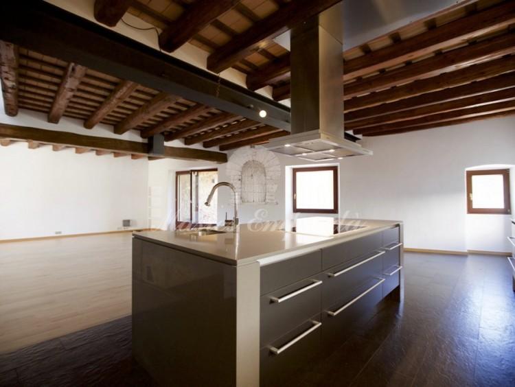 Detalle de la cocina de la segunda planta