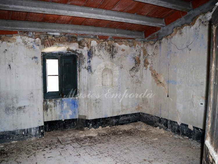 Habitacions de la segona planta de la casa
