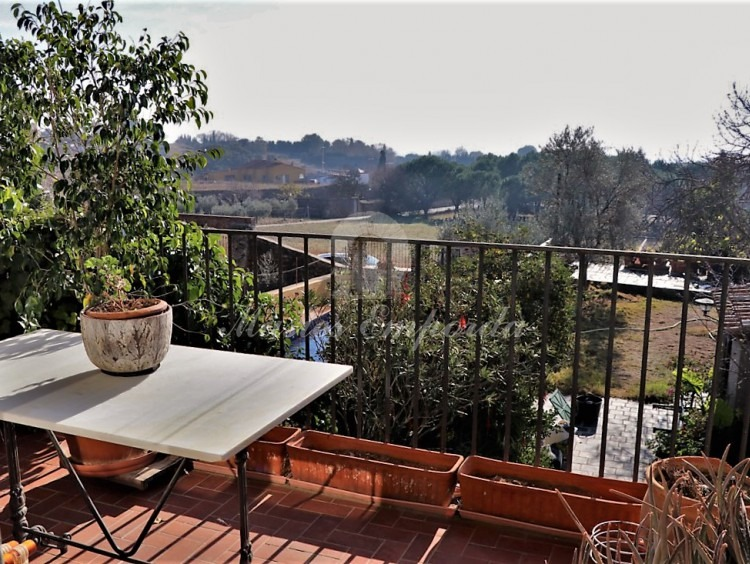 La terrassa amb vistes