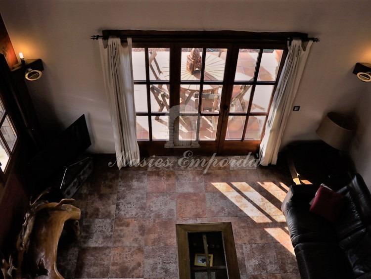 Vistas desde la buhardilla del salón con chimenea