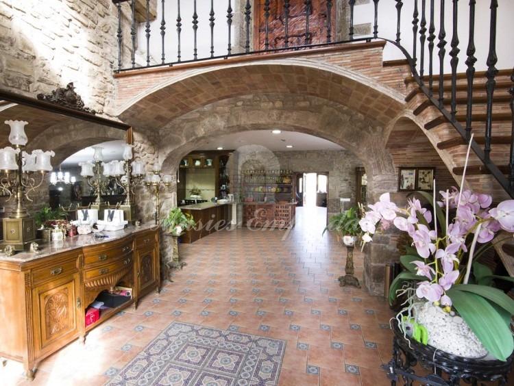 Hall d'entrada de la masia