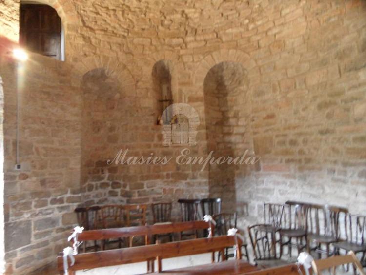 Detalle del interior de la iglesia